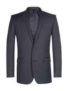 Racing Green Grey blue striped suit