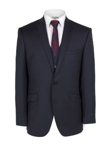 Navy cashmere suit