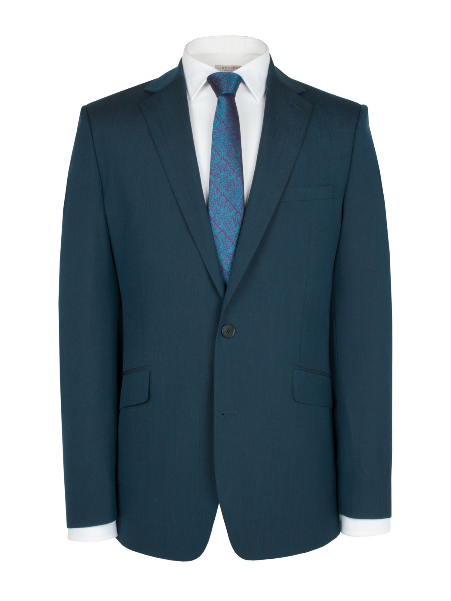 Teal tonic suit