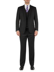 Pierre Cardin Black twill suit