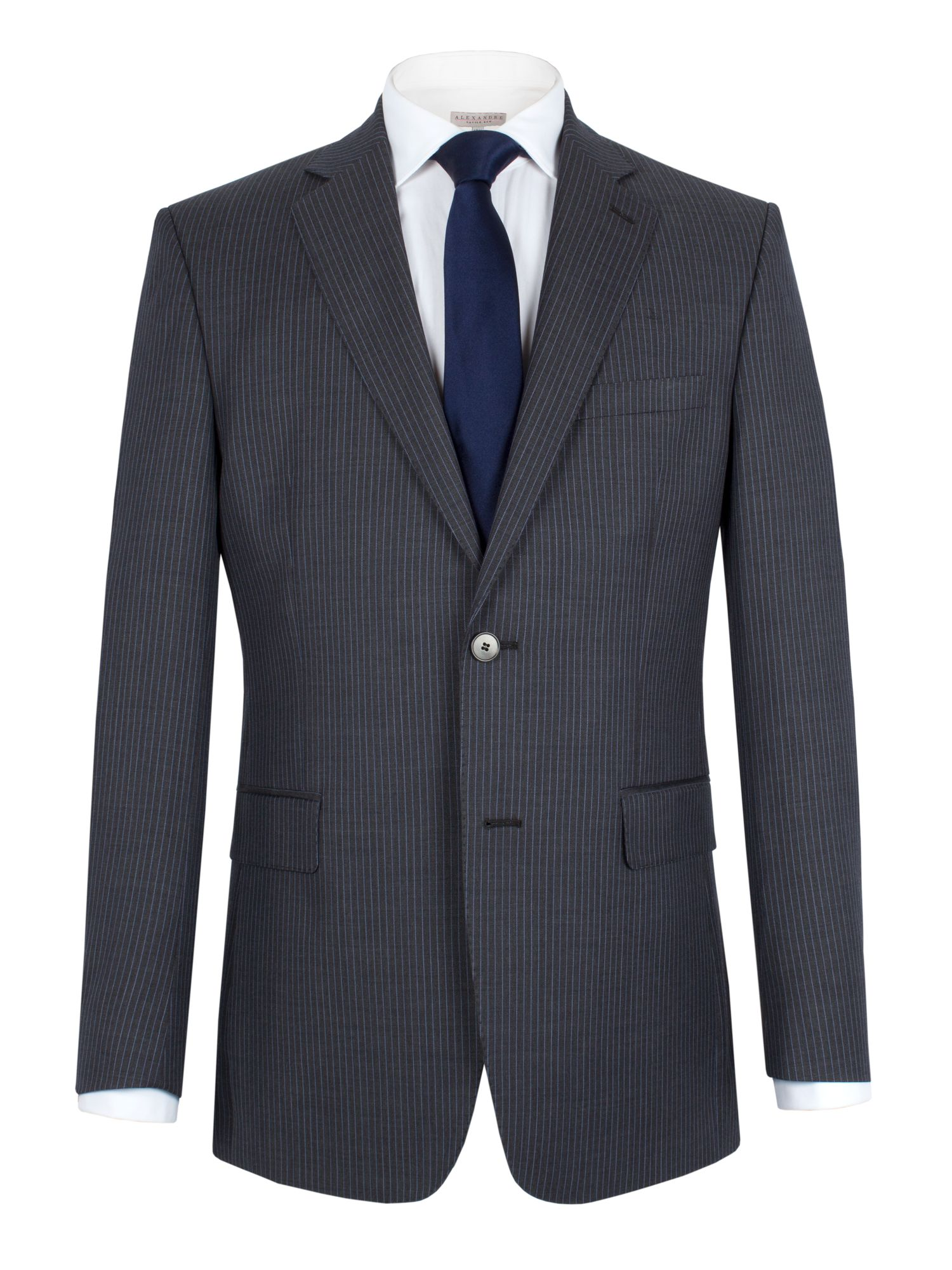 Stripe notch suit