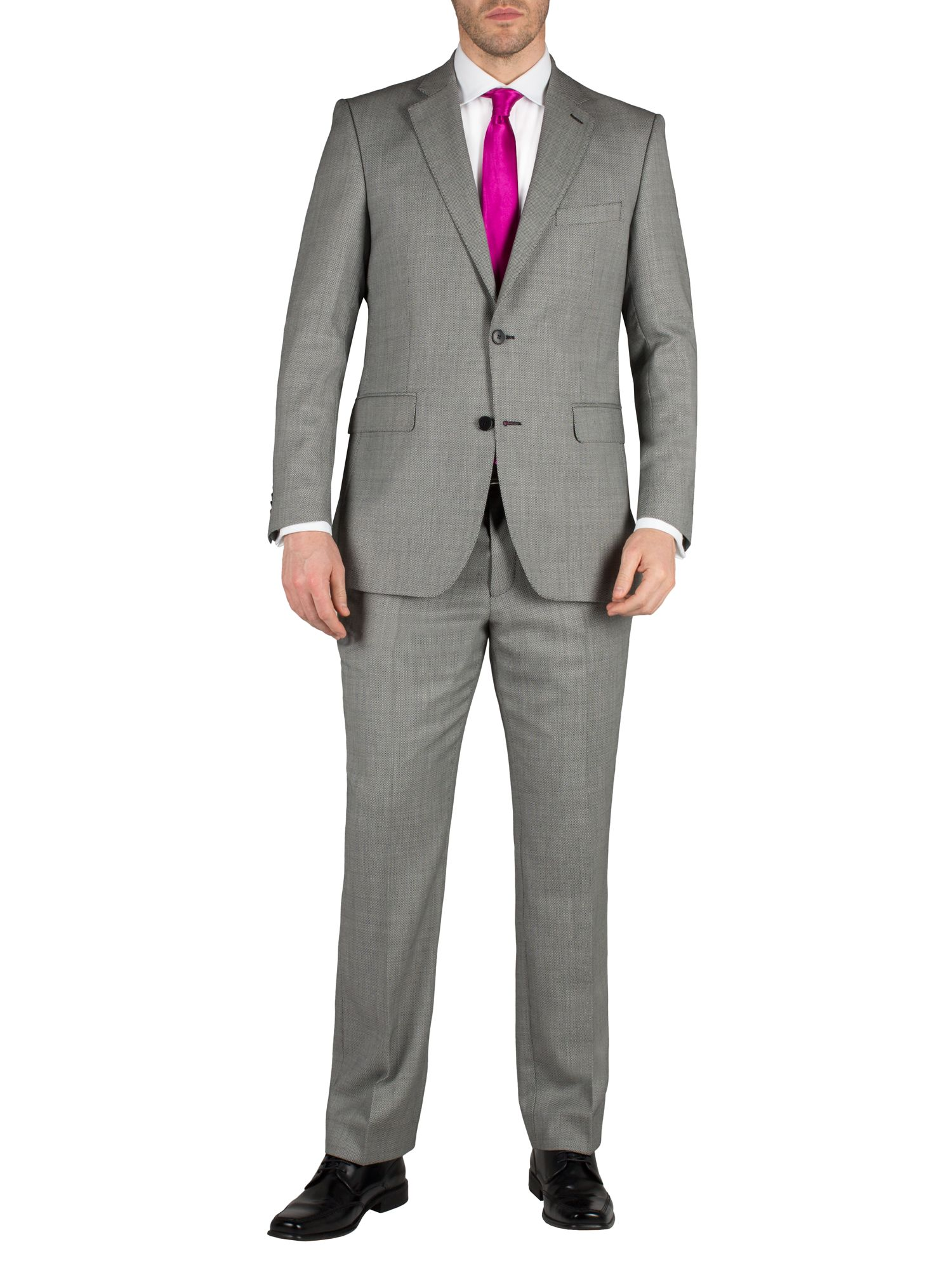 Birdseye notch suit