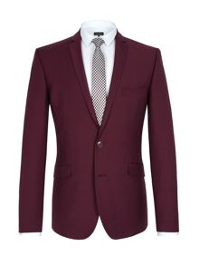 Mulberry twill suit