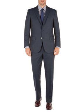 Pierre Cardin Plain Blue Tonic Suit