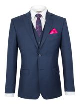 Alexandre of England Pick And Pick Tailored Fit Suit