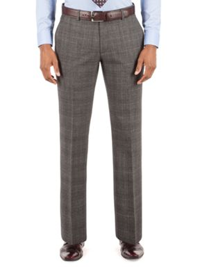 Alexandre of England Wool Check Tailored Fit Suit