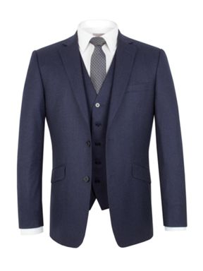 Alexandre of England Flannel Tailored Fit Suit