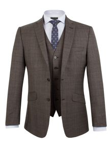 Racing Green Hague Heritage Check Suit