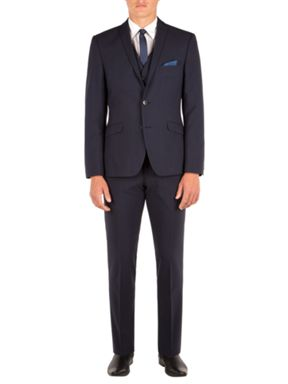 Limehaus Oliver Tonal Check Slim Fit Suit