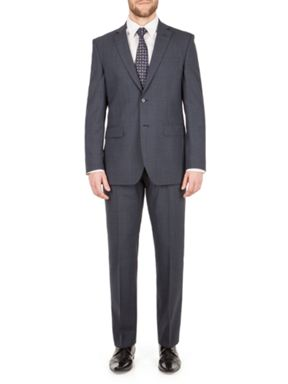 Alexandre of England Barnet check regular fit Suit