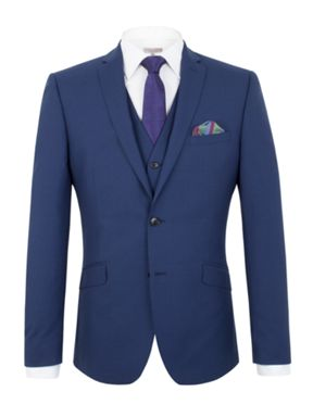 Alexandre of England Bromley panama slim fit suit