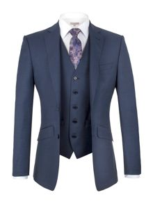 Alexandre of England Brunswick tailored fit Sharkskin Suit