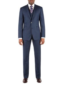 Brunswick tailored fit Sharkskin Suit
