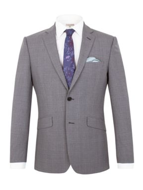 Alexandre of England Hackney check tailored fit suit
