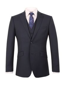 Alexandre of England Bedford navy stripe tailored suit