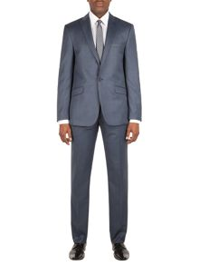 Limehaus Baker airforce pindot slim fit suit