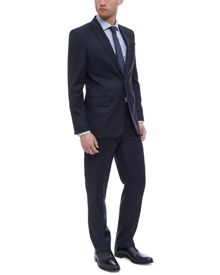 Jaeger Wool Faded Check Suit