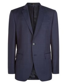 Jaeger Wool Windowpane Regular Suit