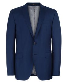Jaeger Wool Basketweave Slim Suit