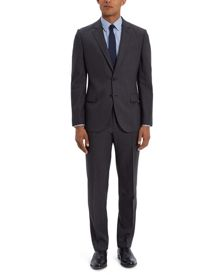 Jaeger Wool Chalk Pinstripe Regular Suit