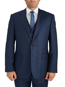 Paul Costelloe Modern Navy Royal Plain Suit