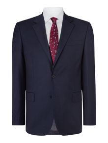 Paul Costelloe Modern Fit Navy Sharkskin Suit