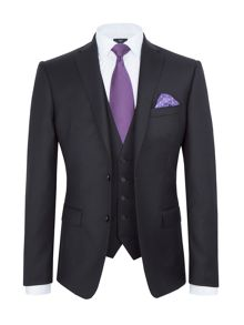 Paul Costelloe Slim Fit Black Suit
