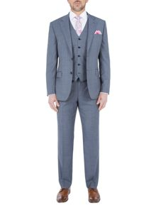 Paul Costelloe Modern Fit Light Blue Suit