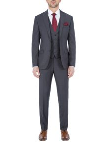 Paul Costelloe Slim Fit Light Grey Tonic Suit