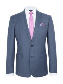 Paul Costelloe Modern Fit Blue Plain Suit