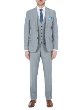Paul Costelloe Slim Fit Grey Melange Suit