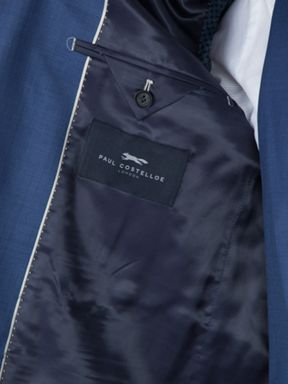 Paul Costelloe Chiltern Sharkskin Wool Three Piece Suit