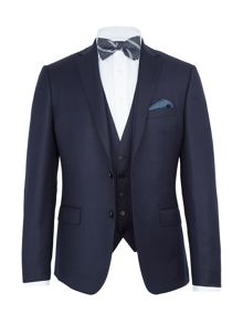 Paul Costelloe Burrell Basketweave Wool Slim-Fit Suit