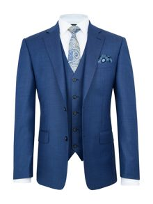 Paul Costelloe Bromley Wool Birdseye 3-Piece Suit