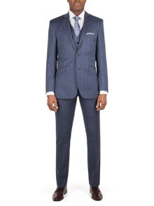 Alexandre of England Litchfield check tailored fit suit