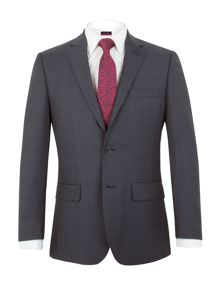 Pierre Cardin Fortrose check regular fit suit