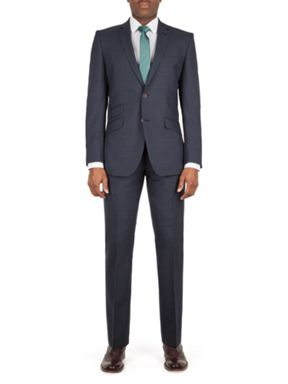 Racing Green Ward puppytooth tailored suit