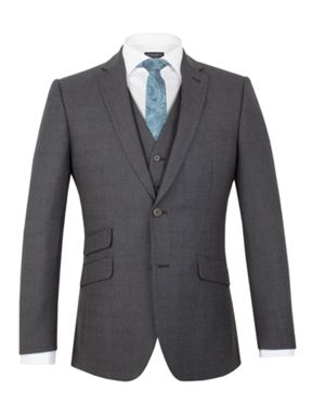Racing Green Moore jaspe check tailored suit