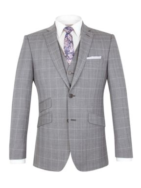 Alexandre of England Vincent tailored fit check suit