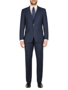 Aston & Gunn Ardsley check tailored suit