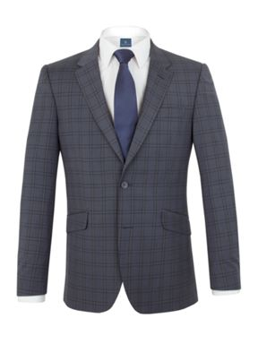 Aston & Gunn Carlton check tailored suit
