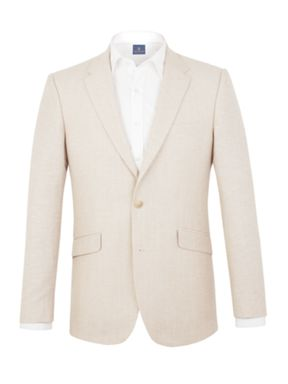 Aston & Gunn Denby Stone Linen Tailored suit