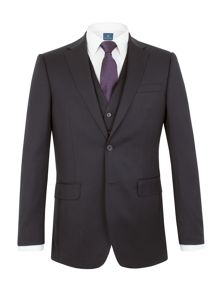 Aston & Gunn Kinsley regular navy suit
