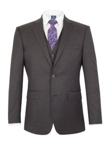 Aston & Gunn Kinsley regular charcoal suit