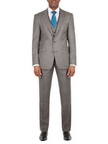 Aston & Gunn Oxenhope tailored sharkskin suit