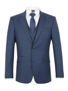 Aston & Gunn Oxenhope sharkskin tailored suit