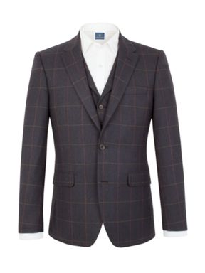 Aston & Gunn Oakworth check  tailored suit