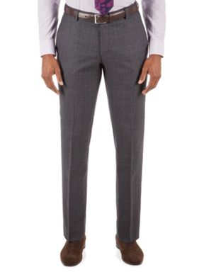 Alexandre of England Barnsbury Blue Rust Check Suit