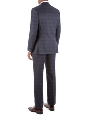 Alexandre of England Avondale Flannel Check Suit
