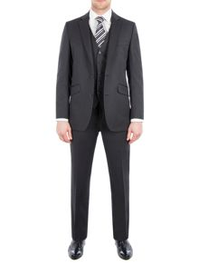 Pierre Cardin Jack Charcoal Twill Performance Suit